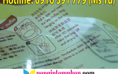 In tem decal trong chất lượng