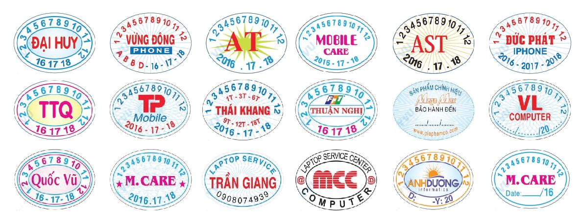 in decal bao hanh hinh elip